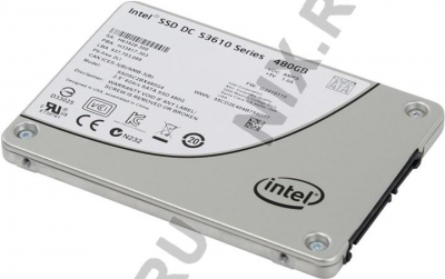"Купить SSD 480 Gb SATA 6Gb/s Intel DC S3610  Series <SSDSC2BX480G401>  2.5""  MLC в Иркутске"